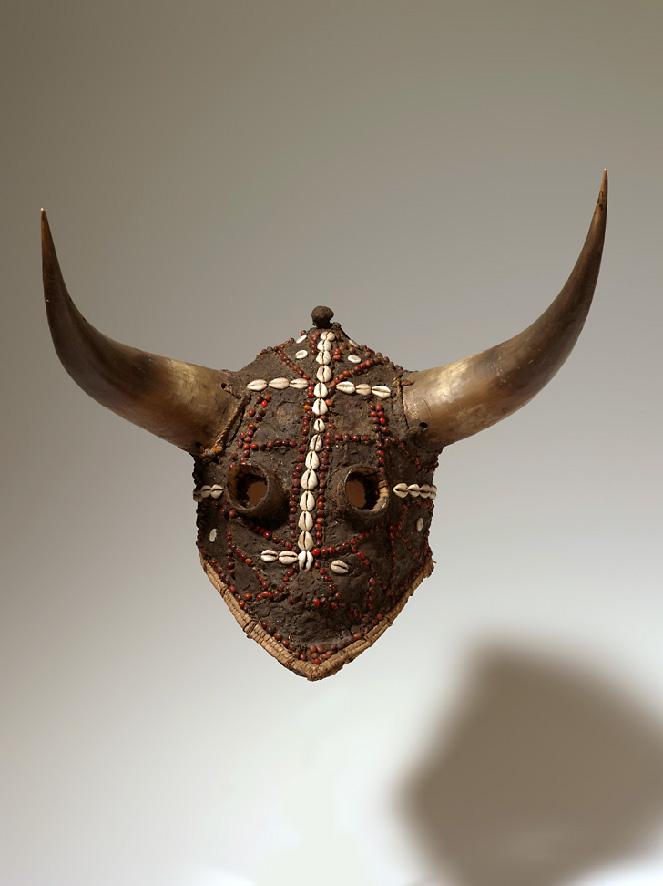 Masque Ejumba, diola, Sénégal, musée d'Angoulême, legs du Dr Lhomme, 1934